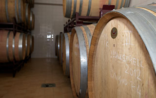 Ageing of Monastrell grapes in French oak barrels